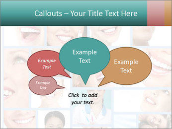 Dental collage. PowerPoint Template - Slide 73
