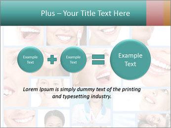 Dental collage. PowerPoint Templates - Slide 75