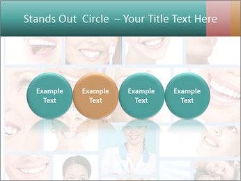 Dental collage. PowerPoint Templates - Slide 76