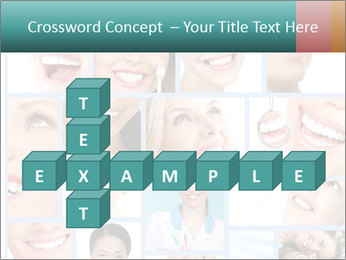 Dental collage. PowerPoint Templates - Slide 82