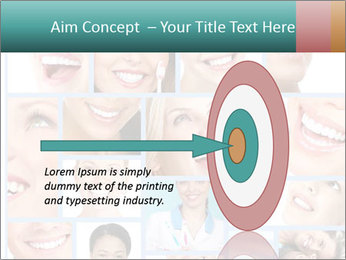 Dental collage. PowerPoint Template - Slide 83