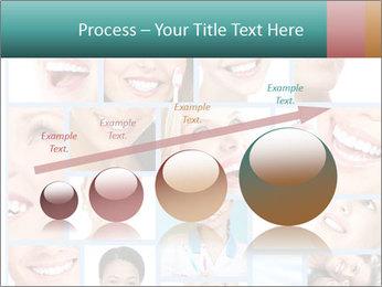 Dental collage. PowerPoint Template - Slide 87