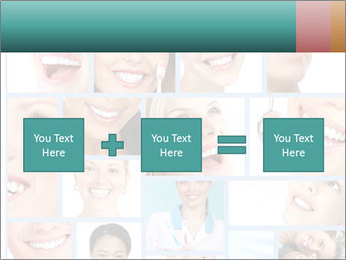 Dental collage. PowerPoint Template - Slide 95