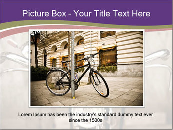 Old bicycle PowerPoint Templates - Slide 15