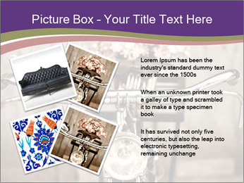 Old bicycle PowerPoint Templates - Slide 23
