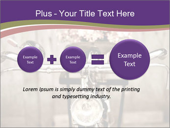 Old bicycle PowerPoint Templates - Slide 75