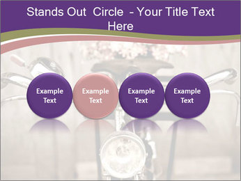 Old bicycle PowerPoint Templates - Slide 76