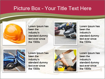 A worker in safety shoes PowerPoint Templates - Slide 14