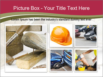 A worker in safety shoes PowerPoint Templates - Slide 19