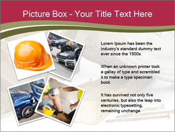 A worker in safety shoes PowerPoint Templates - Slide 23