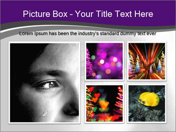 Closeup of girl crying PowerPoint Templates - Slide 19