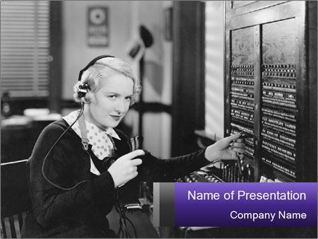 Switchboard PowerPoint Templates