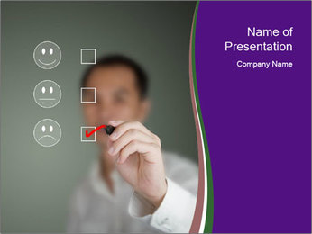 Business man PowerPoint Template - Slide 1