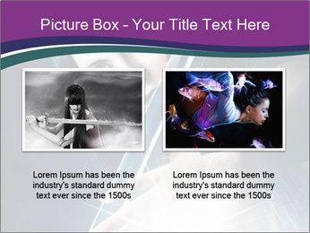 Brunette woman PowerPoint Template - Slide 18