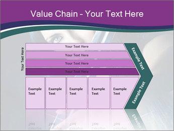 Brunette woman PowerPoint Template - Slide 27
