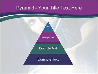 Brunette woman PowerPoint Template - Slide 30