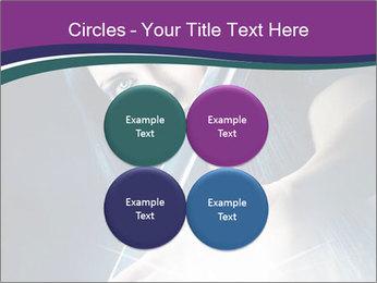 Brunette woman PowerPoint Template - Slide 38