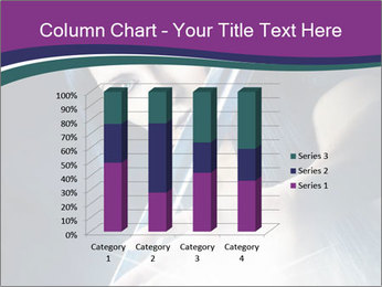Brunette woman PowerPoint Template - Slide 50