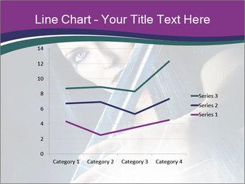 Brunette woman PowerPoint Template - Slide 54