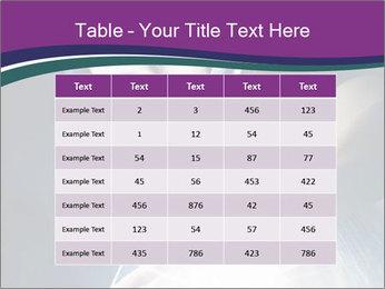 Brunette woman PowerPoint Template - Slide 55
