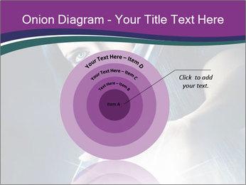 Brunette woman PowerPoint Template - Slide 61