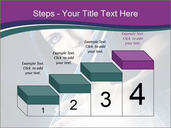 Brunette woman PowerPoint Template - Slide 64