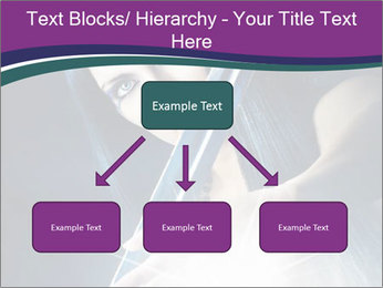 Brunette woman PowerPoint Template - Slide 69