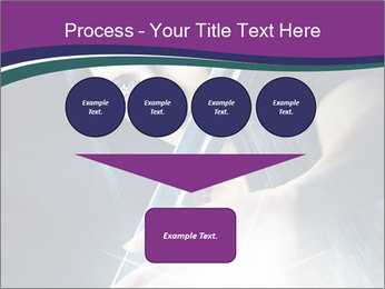 Brunette woman PowerPoint Template - Slide 93
