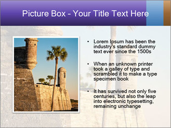 National Monument in St. Augustine PowerPoint Templates - Slide 13