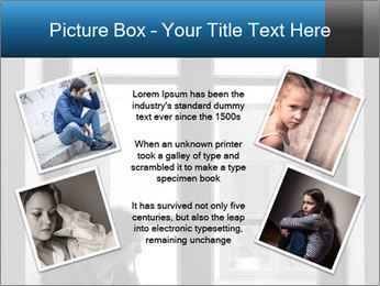Depressed young girl PowerPoint Templates - Slide 24