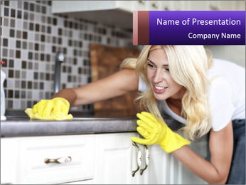 Housework PowerPoint Templates - Slide 1
