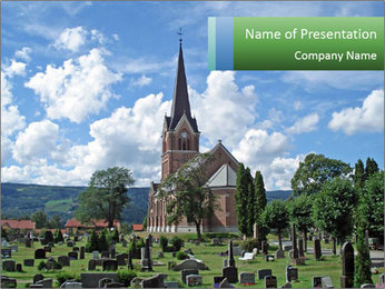 Chruch PowerPoint Template - Slide 1