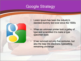 Monk kneels down PowerPoint Templates - Slide 10