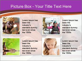 Monk kneels down PowerPoint Templates - Slide 14