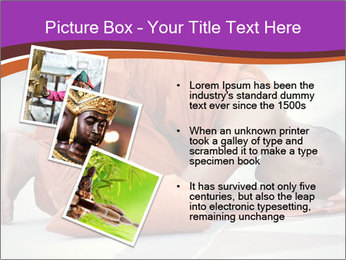 Monk kneels down PowerPoint Templates - Slide 17