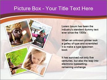 Monk kneels down PowerPoint Templates - Slide 23