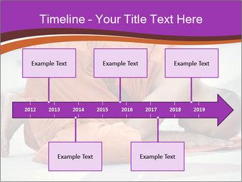 Monk kneels down PowerPoint Templates - Slide 28
