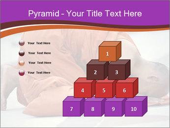 Monk kneels down PowerPoint Templates - Slide 31