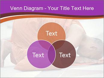 Monk kneels down PowerPoint Templates - Slide 33