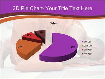 Monk kneels down PowerPoint Templates - Slide 35