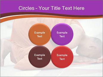 Monk kneels down PowerPoint Templates - Slide 38