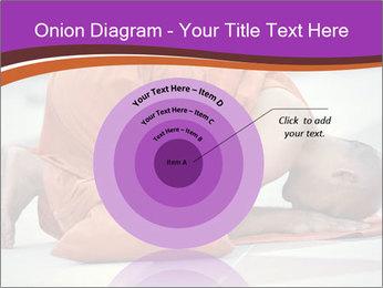 Monk kneels down PowerPoint Templates - Slide 61
