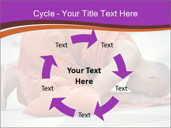 Monk kneels down PowerPoint Templates - Slide 62