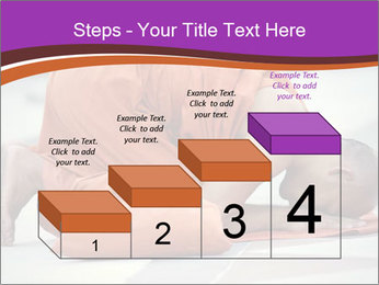 Monk kneels down PowerPoint Templates - Slide 64
