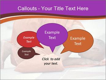 Monk kneels down PowerPoint Templates - Slide 73
