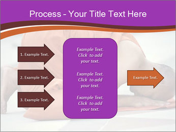 Monk kneels down PowerPoint Templates - Slide 85