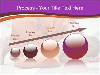 Monk kneels down PowerPoint Templates - Slide 87