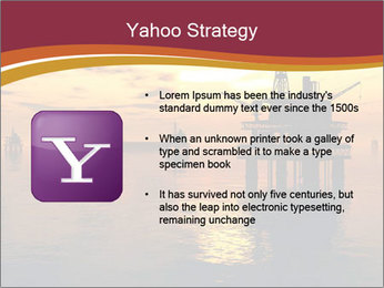 Sea Oil Platform and Tanker PowerPoint Templates - Slide 11