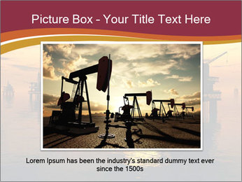 Sea Oil Platform and Tanker PowerPoint Templates - Slide 16