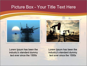 Sea Oil Platform and Tanker PowerPoint Templates - Slide 18